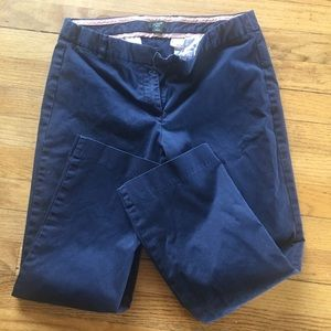 JCrew women's ankle pants blue size 4